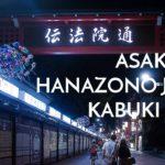 ASAKUSA + HANAZONO JINJA + KABUKI CHO  // JAPAN TRAVEL VLOG – TOKYO  – S01E04
