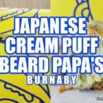 BEARD PAPA'S JAPANESE GREEN TEA CREAM PUFF PASTRY – BURNABY | Vancouver Food Reviews – Gutom.ca