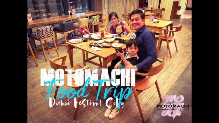 Dubai Food Trip – MOTOMACHI Japanese Restaurant