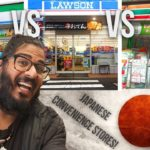 FOOD in JAPANESE CONVENIENCE STORES!- Osaka Japan!