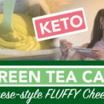 How to Make a Green Tea Cake | Recipe for a Japanese Matcha Cheesecake Light, KETO, Low Carb