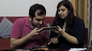Indians Try Japanese Food For The First Time – Sushi, Soba Noodles, Katsu Curry