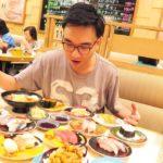 Japan Day 1 NAGOYA Sushi Train – REAL JAPANESE food | Eating Magoru & Toro