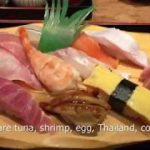 Japan tourism. Japanese sushi shop is like this!
