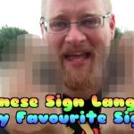 Japanese Sign Language, My Favourite Sign –  I Live in Japan 208