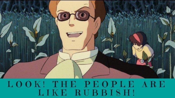 Learn Japanese with Anime – Look! The People Are Like Rubbish