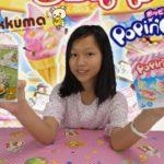 Popin' Cookin' Ice Cream DIY Set! Making Mini Japanese Candy Food! Rilakkuma British Tea Time Review