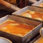 Tamagoyaki Japanese Omelette [ダシ巻き玉] – Japanese Street Food @tsukiji fish market