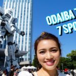 Top 7 Sightseeing Spots in Odaiba | Tokyo Japan Vlog