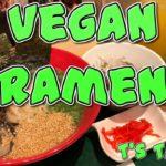 Vegan Ramen at T's TanTan in Tokyo, Japan