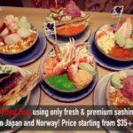 issho izakaya — pretty good Japanese food at Kallang, Singapore!