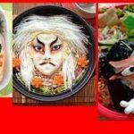 japanese KABUKI food art amazing bento  ,デコアート歌舞伎弁当・日本・