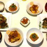 今日の晩御飯🍴20180420 チヂミ、じゃが芋そぼろ JAPANESE Dinner 夕食 夕飯