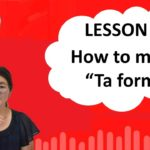 "# 35 Learn Japanese – How to make ""Ta Form"""