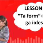 "# 37 Learn Japanese – ""Ta Form"" + hou ga iidesu  (You had better do…)"