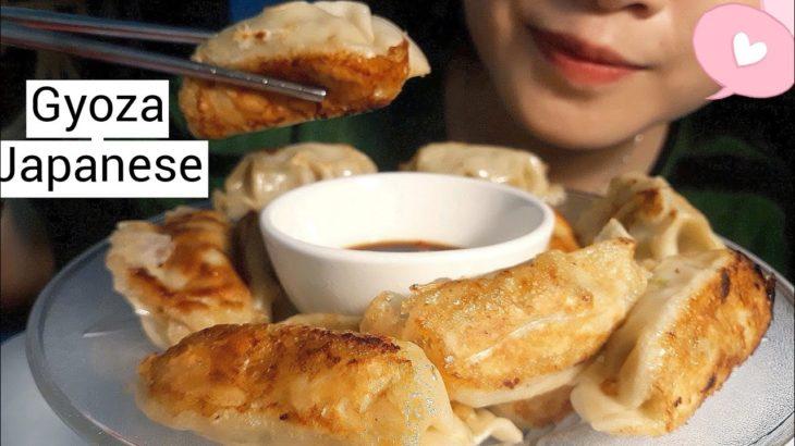 ASMR || Eating Gyoza Japanese * No talking *