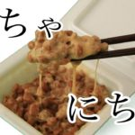 【ASMR】納豆を混ぜる音 にちゃにちゃ Eating Japanese Food Natto sounds  No talking 【音フェチ】