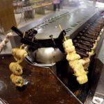 Amazing Automatic Machine to Cook Japanese Yakitori Skewers. Singapore Street Food