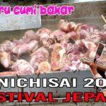CUMI BAKAR DI JAPANESE FESTIVAL ENNICHISAI 2018 COOK SQUID DELICIOUS