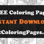 Coloring pages of japanese culture