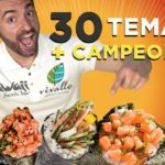 Desafio dos 30 Temakis! (4.2kg, 6700kcal) +Campeonato R$1000!