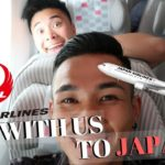 Flying Japan Airlines to Tokyo!