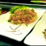 Fusion, Brazilian and japanese food.