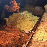 【Gigantic and Wild Street Fried Noodle】at Japanese summer festival