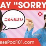 How to Say Sorry in Japanese? – Basic Japanese Phrases