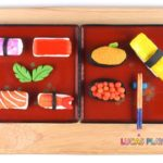 How to make Sushi Rolls with Play-Doh and Learn Japanese Food Vocabulary