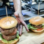 Huge Burgers of Japanese Wagyu Beef Seen and Tasted in London. Street Food