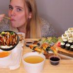 JAPANESE FOOD | MUKBANG 먹 방 | SUSHI SASHIMI EEL CULTURAL FOOD