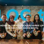 Japan VLOG#4: Trading in Tokyo Stock Exchange (JPX) and Crafting Anime Bento