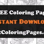 Japanese art colouring pages