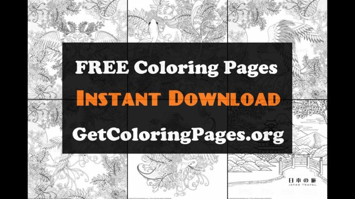 Japanese Coloring Pages For Adults Sense Of Japan