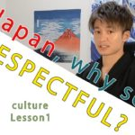 Japanese culture: manner and respect in Japanese
