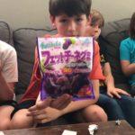 Kids Taste Testing Japanese Candy