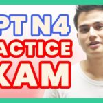 Learn Japanese – JLPT N4 Practice Vocabulary 言語知識 | Japanese language lesson