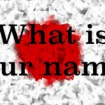 Learn Japanese – What is your name?