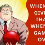 Learn Japanese with Anime – When You Give Up, That's When The Game Is Over