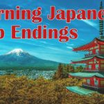 Learning Japanese Verb Endings