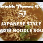 MAKE JAPANESE STYLE MAGGI NOODLE SOUP RECIPE BY VINKLE