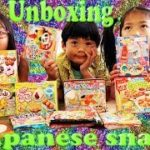 Mail unpacking japanese snack box – unboxing – sushi toy food fun