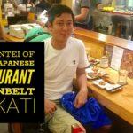 Nanbantei of Tokyo Japanese Restaurant Greenbelt Makati