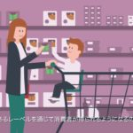 Origin, the first food traceability label – Japanese subtitles