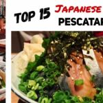 PART 1: My Own Top 15 Japanese Foods PESCATARIAN Edition!