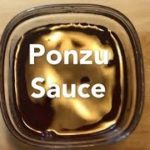 PONZU Sauce. Japanese Citrus Dipping Sauce Recipe. How to Make Sushi