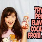 Peach Coca Cola: Trying Japanese Drinks
