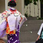 SF Japan Day, watching Kabuki Performance