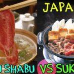 Shabu Shabu VS. Sukiyaki: Japanese Hotpot in Fukuoka Japan